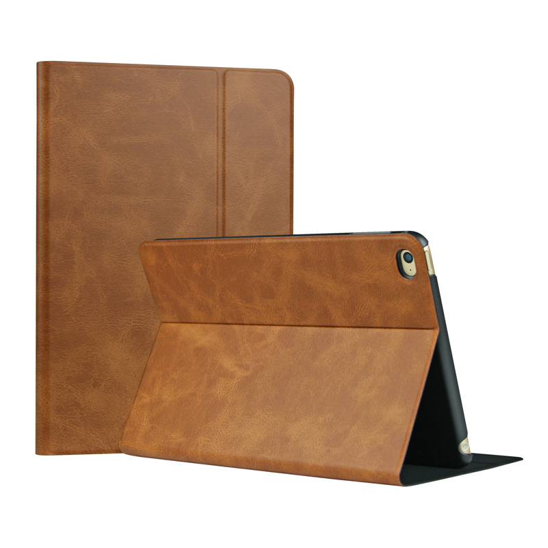 Valkit leather Case cover For Apple iPad air 2 /  ipad 6 flip folio case smart case with stand sleeping wake up slim smart Cover