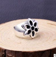 mens rings silver 925 big ring men accessories free shipping