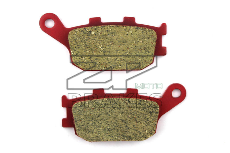 Motorcycle Fit For SUZUKI GSR 750 L1 2011-2014 Rear Ceramic Composite brake pads OEM NEW ZPMOTO motorcycle brake pads for bmw c 600 evolution scooter 2014 front rear oem new carbon ceramic composite high quality zpmoto