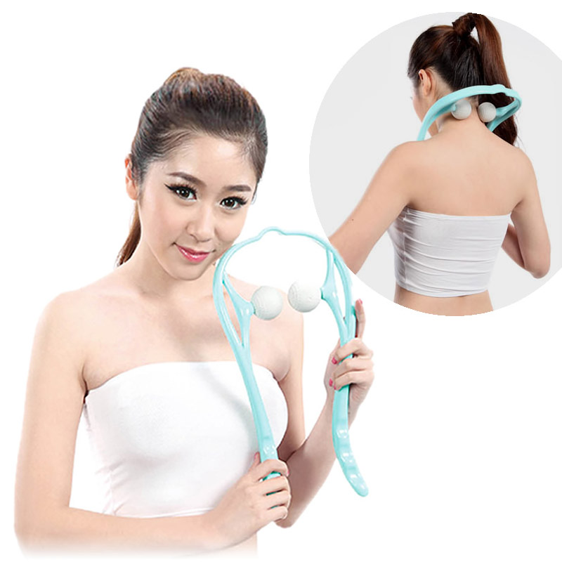 Massager for Neck Shoulder Pain Self Massager Tool Roller Ball Simulates Massage Therapist Hands Massage Relaxation health care