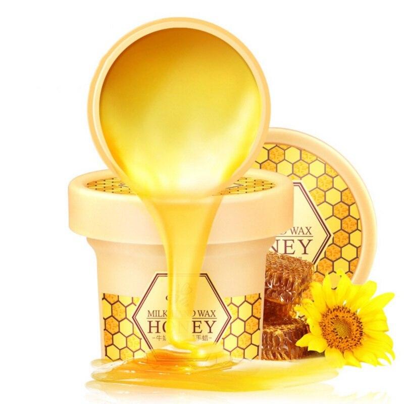 Beauty Milk Honey Paraffin Wax Hand Mask Hand Care Moisturiz