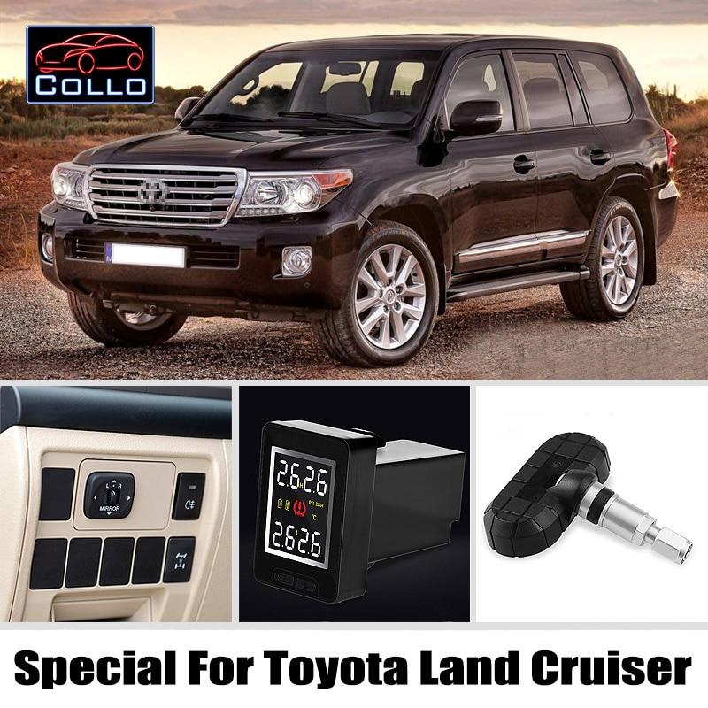 TPMS para TOYOTA Land Cruiser 70 100 200 V8 / Prado 90 120 150 / - Electrónica del Automóvil - foto 1