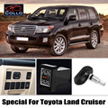 TPMS For TOYOTA Land Cruiser 70 100 200 V8 / Prado 90 120 150 / Roraima / Tire Pressure Monitoring System Of Internal Sensors