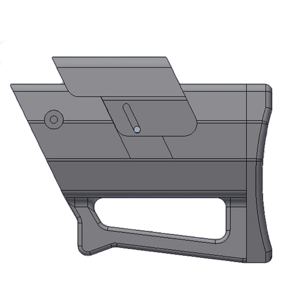 NFSTRIKE Ba Лейте Тип плеча со изменение части для Nerf внешний Диаметр 19 мм передняя Труба Декоративные-черный 2018