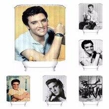 Custom Waterproof Shower Curtain Elvis Presley Modern Printed Bathroom Decor Various Sizes 180320 02