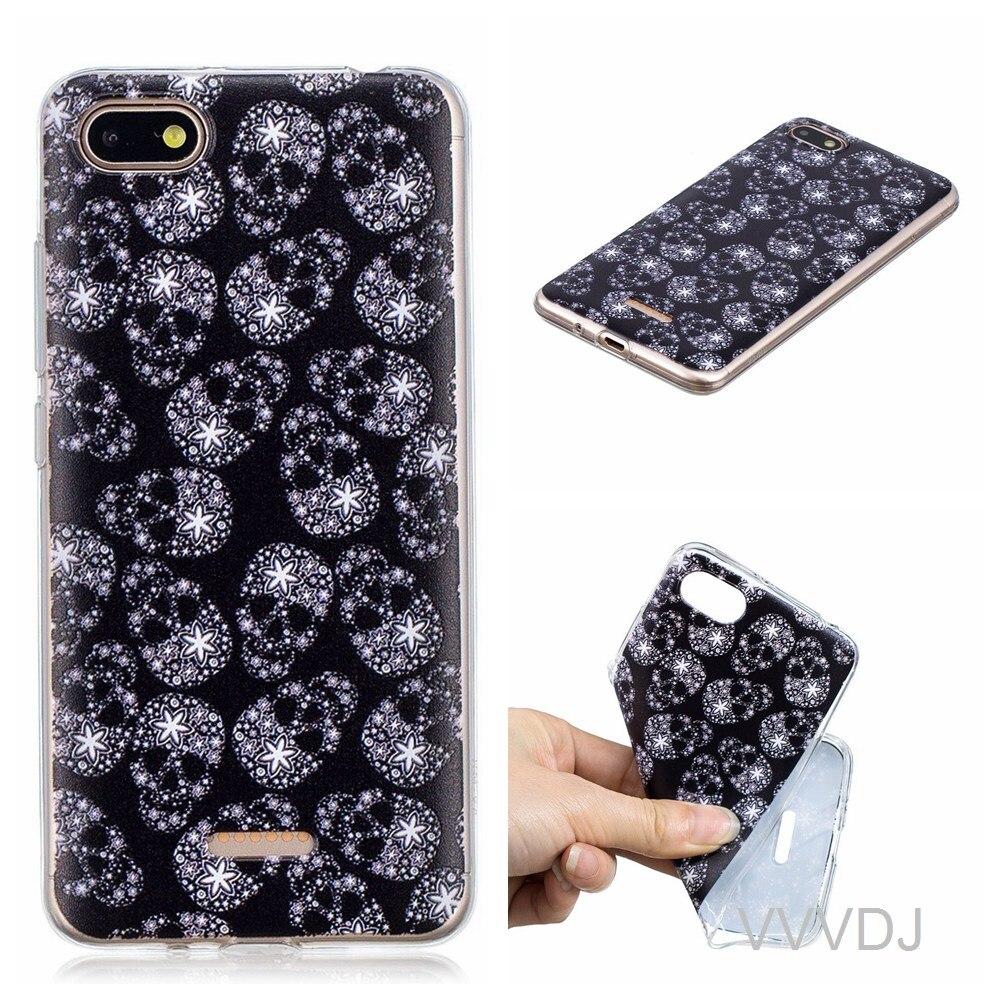 buy popular 8929e 2e1fd US $2.72 9% OFF|For Xiaomi Redmi 6A red mi 6A back cover cute fashion  cartoon phone shell for xiao mi redmi6A redmi 6A back cover silicone  cover-in ...