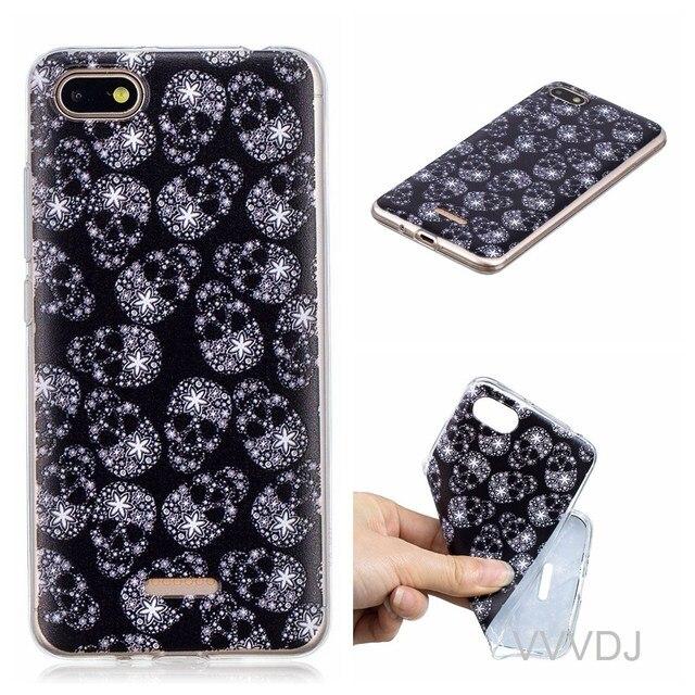 super popular 58e62 9ab4c US $2.72 9% OFF|Aliexpress.com : Buy For Xiaomi Redmi 6A red mi 6A back  cover cute fashion cartoon phone shell for xiao mi redmi6A redmi 6A back  cover ...
