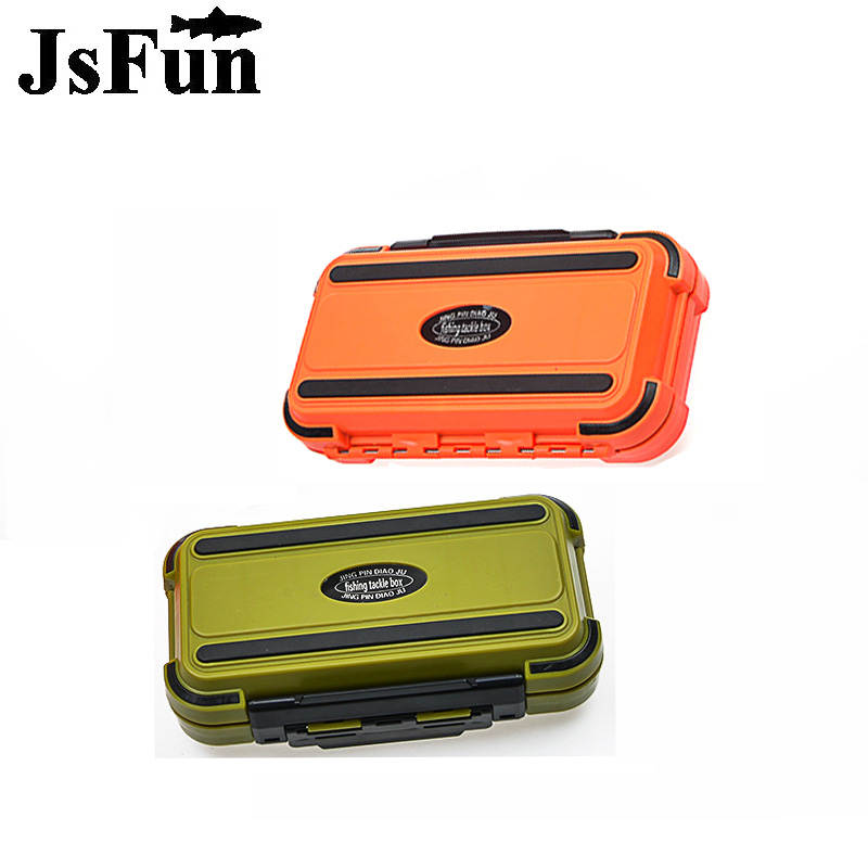JSFUN Waterproof Fishing Tackle Box 20*12*5 Fishing Lure Storage Case With 30 Compartments Fishing Tackle Accessories fg1013 portable 2 layers many compartments visible pvc fishing lure bait hooks fish tackle box accessory storage box case fishing tool