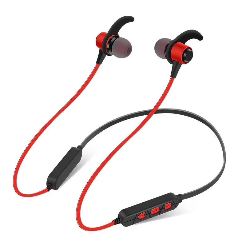 Bluetooth Headphones Neckband Wireless Earbuds with Mic Lightweight Magnetic Stereo Headset In-Ear Waterproof Earphones with X10