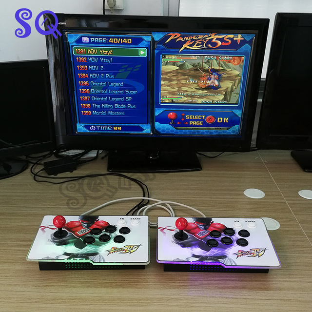 Pandora key 5S+ 1399 in 1 Hot jamma arcade machine/family console joystick  with game