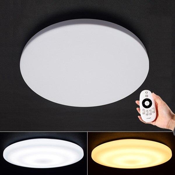 Moderne Intelligent À Distance 18 W Contrôle Eye-protection LED Plafond Lampe 2.4G RF À Distance Gradation Maison Chambre Salon chambre Plafonniers