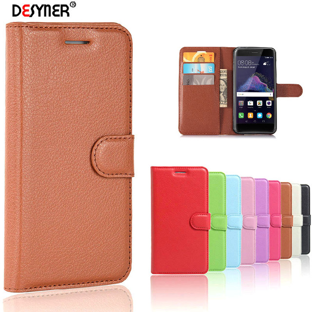 new style 2ca8b 48253 huawei p9 lite 2017 case Wallet Stand Card Slots Leather cover Case For  huawei p8 lite 2017/ honor 8 lite phone cases flip cover-in Wallet Cases  from ...