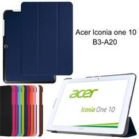 XSKEMP Top Quality Smart Wake Up Sleep PU Leather Cover For Acer Iconia One 10 B3