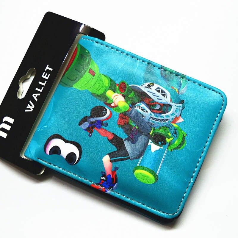 b33e656518c26b Cartoon brieftasche Splatoon kurze brieftasche jungen und mädchen Universelle  geldbörse in Cartoon brieftasche Splatoon kurze brieftasche jungen und  mädchen ...