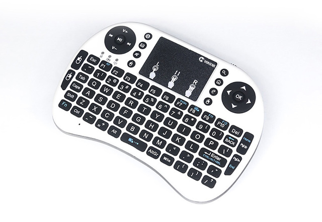 mini i8 keyboard English Russian Spanish Air Mouse Multi-Media Remote Control Touchpad Handheld for Android TV BOX 8.1 T9 X96
