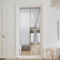 90X140/180cm Pastoral Japanese Noren Tube Curtain Doorway Divider Door Curtain for Home Restaurant Dinning Area Kitchen Bathroom