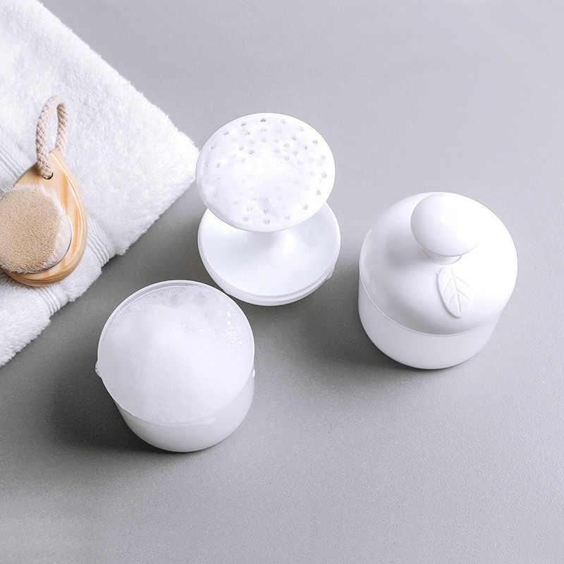 Taşınabilir yüz temizleyici köpük Bubbler cilt gözenek temizleme köpük pompası banyo aksesuarları 88