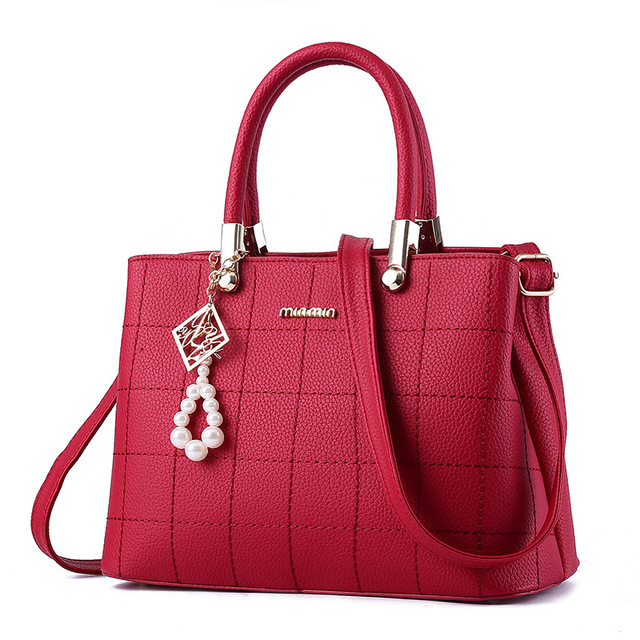 fb0a3ef3d267 Women Bag Pu Leather Tote Brand Name Bag Ladies Handbag Lady Evening Bags  Solid Female Messenger