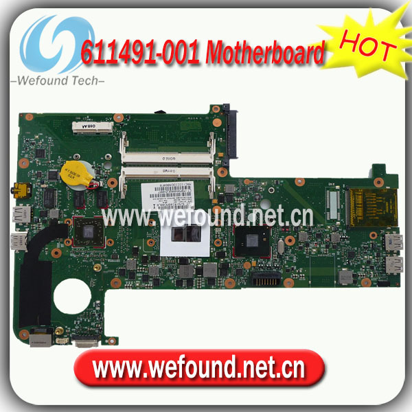 611491-001,Laptop Motherboard for HP TM2 Series Mainboard,System Board