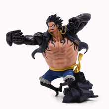 Hot Toy Anime One Piece Top War 4 Monkey D. Luffy PVC Action Figure Collectible Model Christmas Gift Baby Toys For Children anime one piece film gold monkey d luffy shanks edward newgate pvc figure collectible model toy