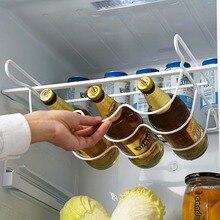 رارة الثلاجة رف مطبخ الرف يمكن البيرة زجاجة نبيذ حامل الرف المنظم تخزين المطبخ الثلاجة المنظم رفوف