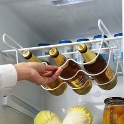 OTHERHOUSE Refrigerator Kitchen Rack Shelf Can Beer Wine Bottle Holder Rack Organizer Kitchen Storage  Fridge Organizer Shelves
