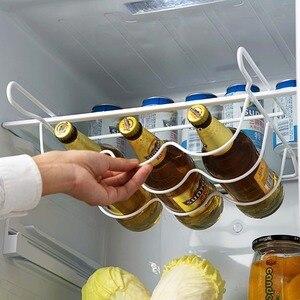 Image 1 - OTHERHOUSE estante de cocina para refrigerador, estante para botella de vino cerveza, organizador de cocina, nevera para almacenamiento, estantes organizadores