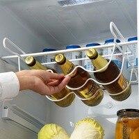 OTHERHOUSE lodówka półka kuchenna półka może piwo butelka wina uchwyt organizator stojaków kuchnia przechowywanie lodówka organizator półki w Półki i uchwyty od Dom i ogród na