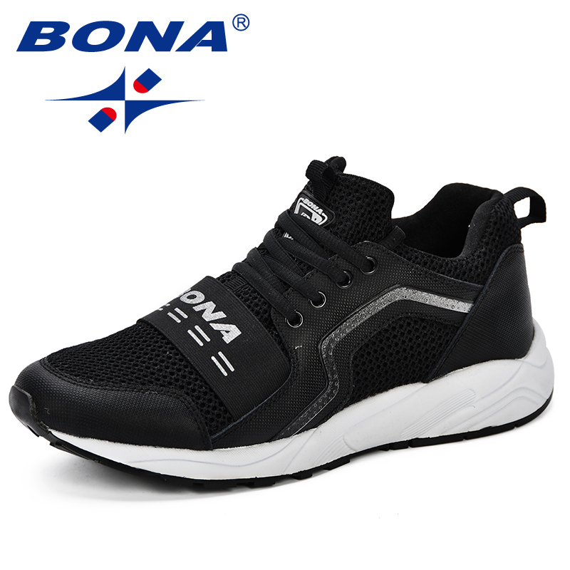 $34.58 BONA New Design Popular Style Men Running Shoes Men Footwear Breathable Jogging Trainers Sneakers Men Athletic  Sport Shoes