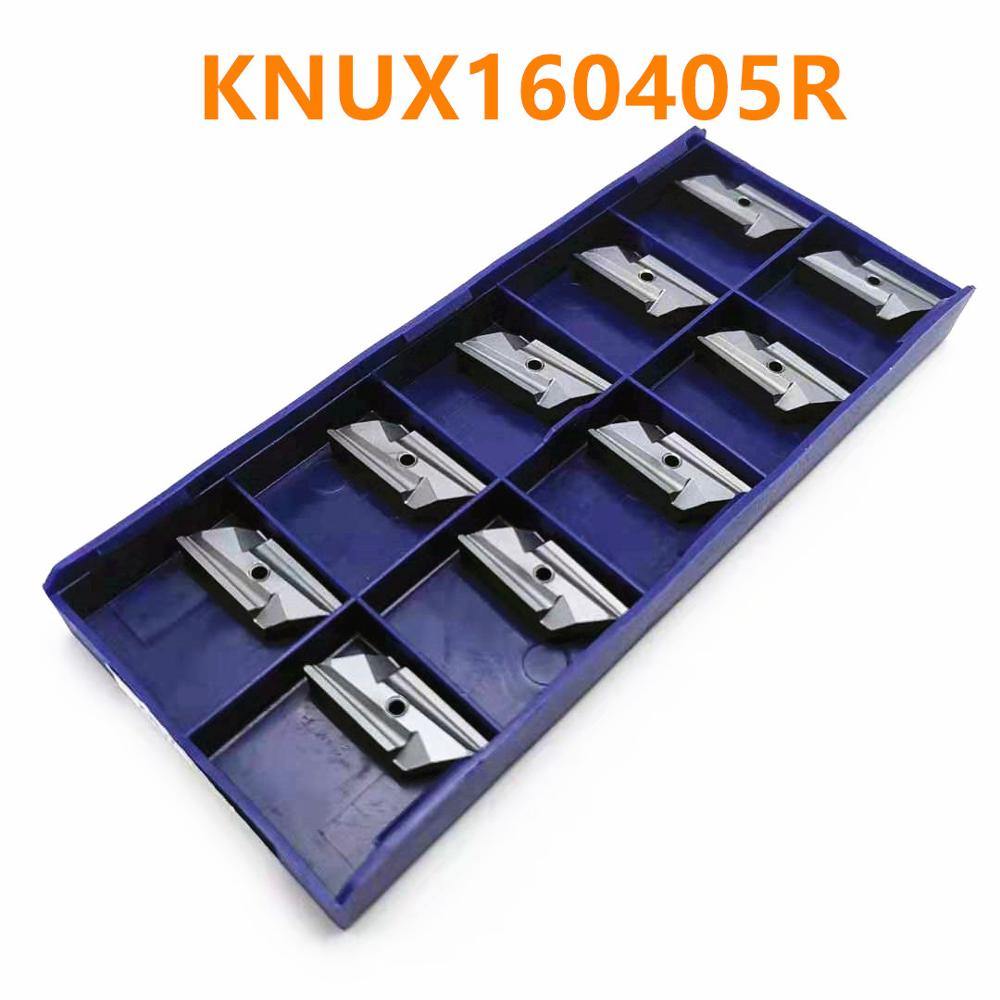 Tungsten Carbide KNUX160405R NN LT10 Carbide Inserts Outside Tool Turning Knux 160405nn Cnc Milling Tools