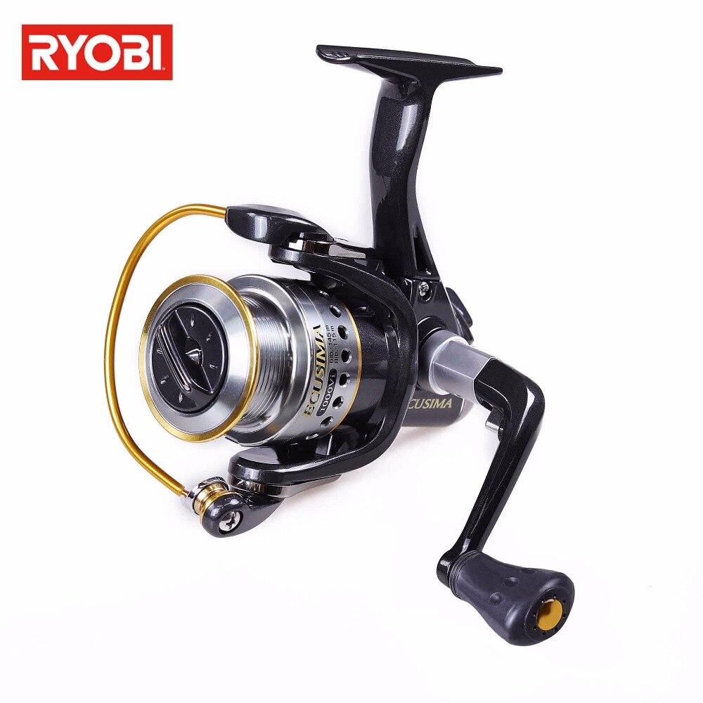 RYOBI ECUSIMA 6000/8000 5.0:1 Metal Spool Spinning Fishing Reel 4+1BB Max Drag 8kg Fishing Reel Wheel