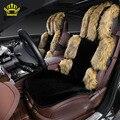 fur cushion  car seat covers for all car kit 5 pcs faux fur for Renault  Logan nexia warm heated seats 2016 raspradazh enot001-5