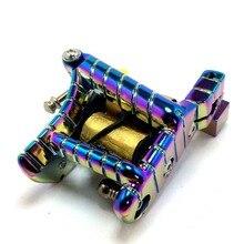 Tattoo Machine Custom Handmade Multi-Color Gun 10-Wrap Coils Liner/Shader Tattoo Gun