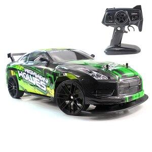 RC автомобиль 1:10 4WD 2,4G дистанционное управление Управление автомобилей высокого Скорость 22 км/ч внедорожный 4 CH автомобиля игрушки машин с эл...