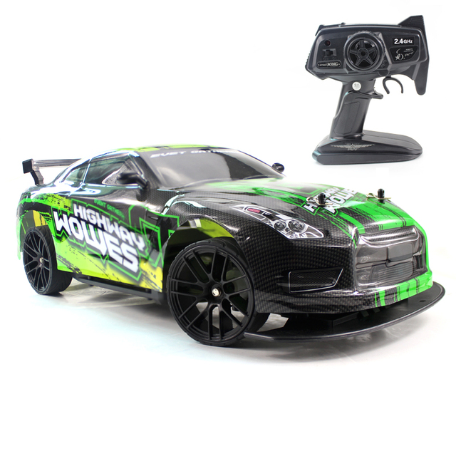 RC Car 1:10 4WD 2.4G Remote Control Cars High Speed 22km/h Off-Road 4 CH Vehicle Car Toys Electronic car for Boy Model Kids Gift