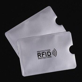 5 sztuk zabezpiecząjace etui na kartę płatniczą zbliżeniową