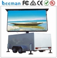 Leeman Sinosky mobile truck module mobile truck LED display boards LED mobile truck module billboard display screen panel sign