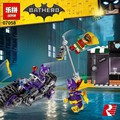 2017 New 139pcs Lepin 07058 Batman Movie Series The Catwoman Motorcycle Chase Set Building Blocks Bricks Educational Toys 70902