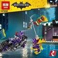 2017 Nuevo 139 unids Lepin 07058 Serie de Películas de Batman La Motocicleta Perseguir Catwoman Juego de Bloques de Construcción Ladrillos de Juguetes Educativos 70902