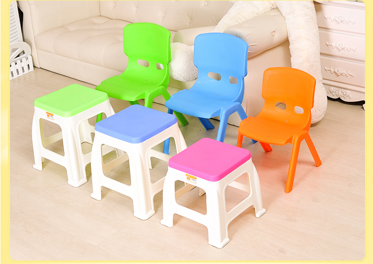 Plastic Stoel Kind : Kinderen dikke groene plastic stoelen kwekerij bureau stoel krukje