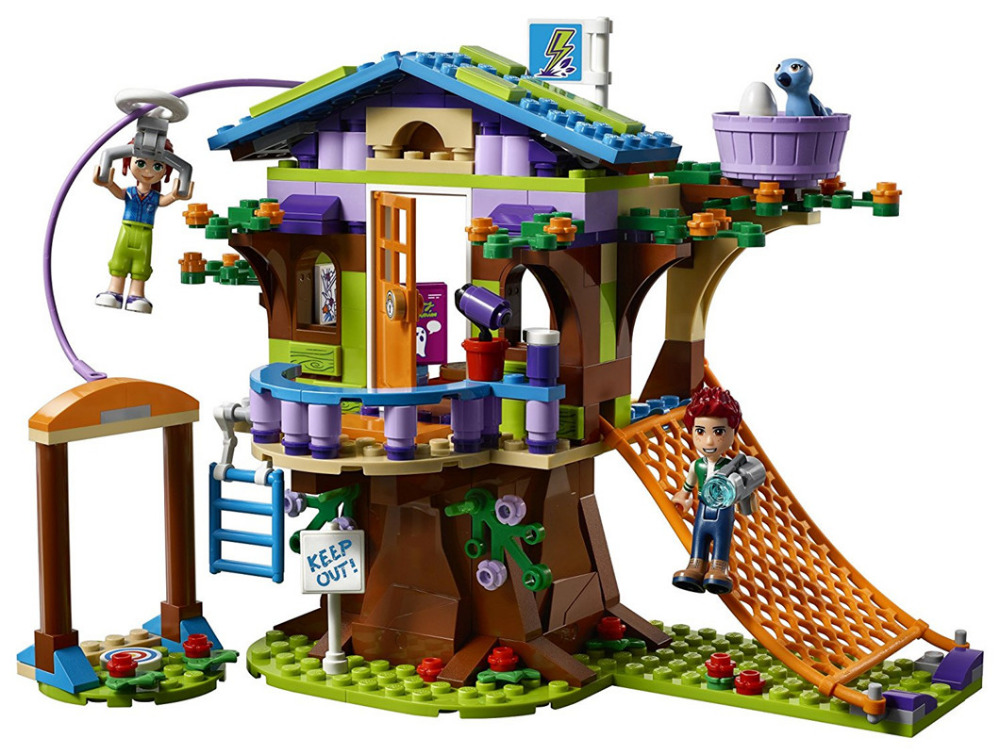LEPIN Friends Mias Tree House Building Blocks Sets Bricks Classic For Children Girl Kids Model Toys Compatible Legoe 2017 hot sale girls city dream house building brick blocks sets gift toys for children compatible with lepine friends