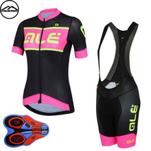 Women Cycling Jersey Sets Breathable Short Sleeve Sport wear For MTB Bicycle 2018 Summer Outdoor Sport Cycling Clothes Ciclismo