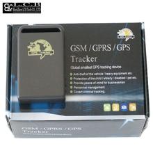 Mini QuanBand Vehículo antirrobo Rastreador GPS GSM tres bandas TK 102 Monitor de Seguimiento de Dispositivos envío gratis