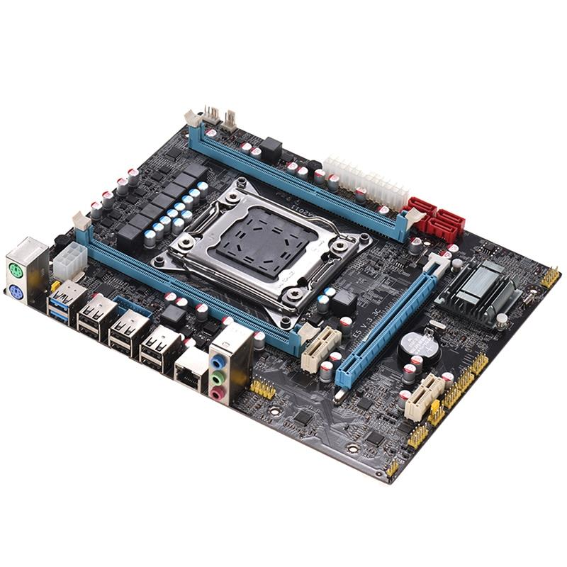 PPYY NEW -E5 3.3C Motherboard Lga <font><b>2011</b></font> <font><b>X79</b></font> Lga2011 <font><b>Socket</b></font> Motherboard Server Reg Ecc Function Pci-Express Usb 3.0 Ddr3 32G Mai image