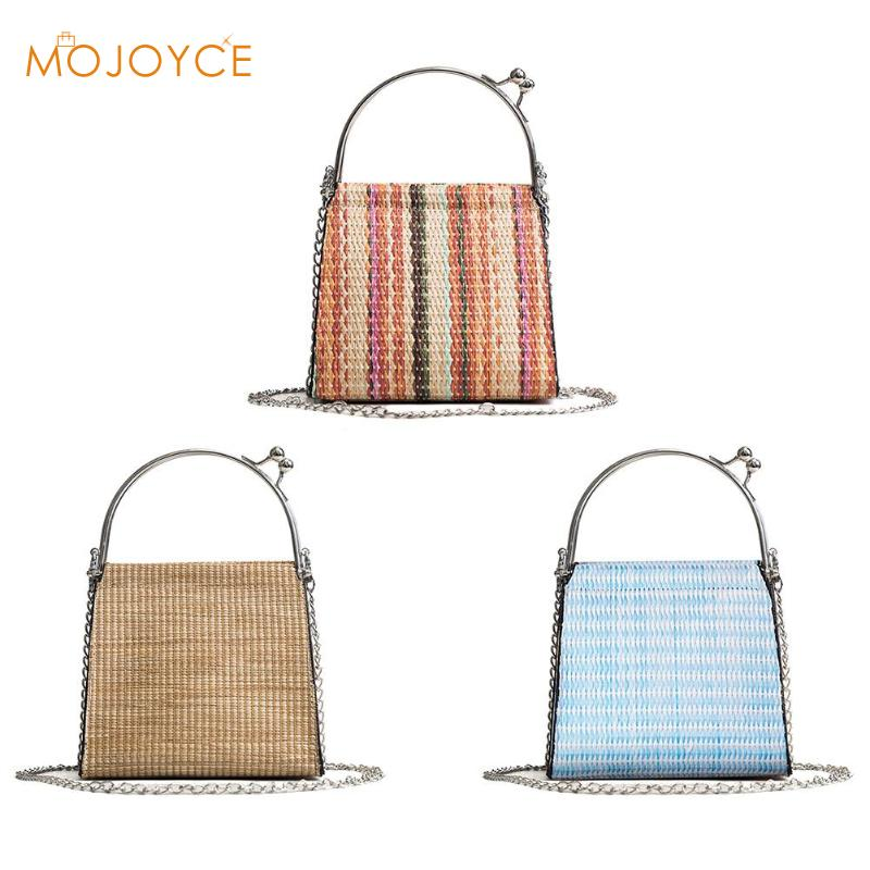 Straw Bags Women Summer Woven Shoulder Crossbody Messenger Bag Handbags Travel Shopping Female Tote vintage Bags bamboo bagStraw Bags Women Summer Woven Shoulder Crossbody Messenger Bag Handbags Travel Shopping Female Tote vintage Bags bamboo bag