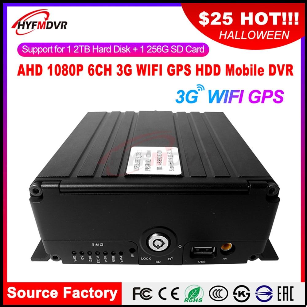 3g gps wifi мобильный видеорегистратор жесткий диск + sd карта запись широкое напряжение DC8V 36V грузовой автомобиль/тяжелая техника/экскаватор/кра