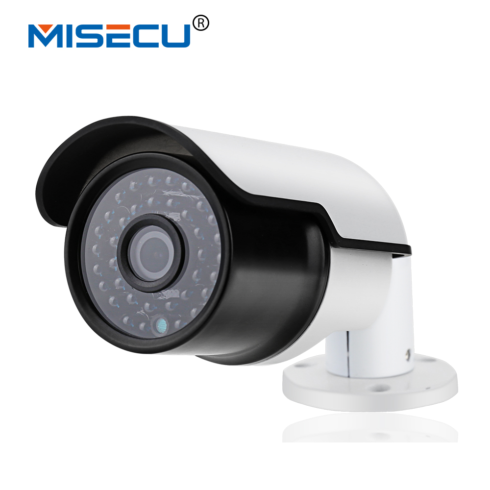 ФОТО MISECU H.265/H.264 Full HD 2.0MP/3.0MP/4.0MP IP Camera Hi3516D Outdoor wide dynamic ONVIF 36pc IR P2P Night Vision Mobile View