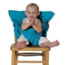 Chaise bébé Portable Sécurité Infantile Siège Harnais Utile Ceintures Ceinture Pliante À Manger Nourrir Les Enfants Dîner Déjeuner Chaise D'appoint 8 Couleur
