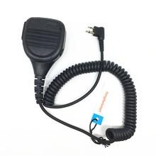 PMMN4013A מיקרופון רמקול עבור מוטורולה Ep450 Cp040 GP3188 MAG אחד A8 Hytera etcwalkie טוקי עם 3.5mm שקע