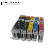 цена на Einkshop 5pcs pgi 550 cli-551 Ink cartridge for Canon Pixma MG5450 MG6350 mx725 MX925 IP7250 MG6450 MG5650 MG5550 pgi550 cli551